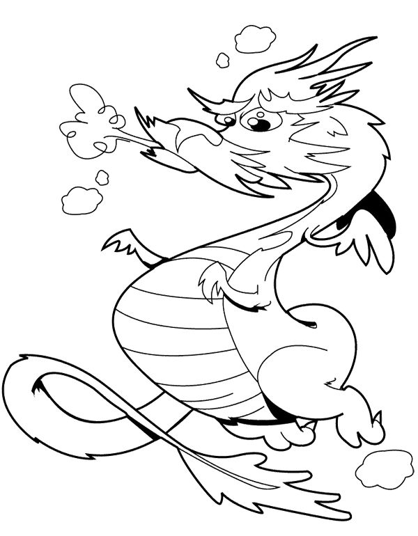 Chinese Dragon Coloring Page Dragon Coloring Page Coloring