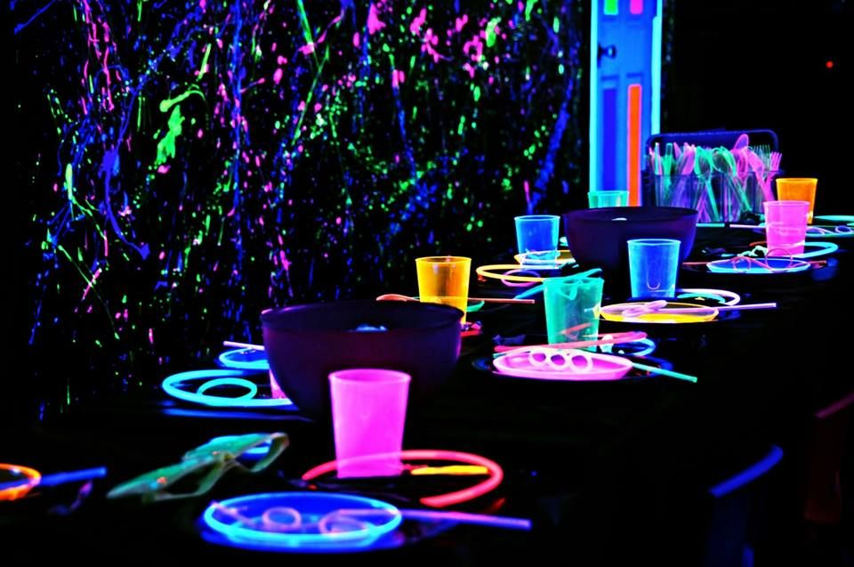 Glow Up Your Party With Glow Any Party Add On A Fun Way To Make Your Kid S Birthday Par Kids Birthday Party Places Birthday Party Places Party Places For Kids