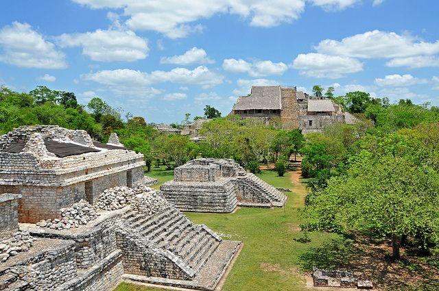 Ek Balam Mayan archeology site