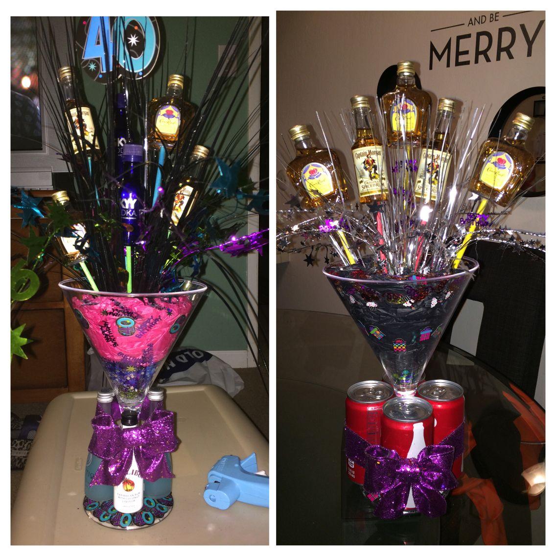 Mini Alcohol Bouquets I've Made