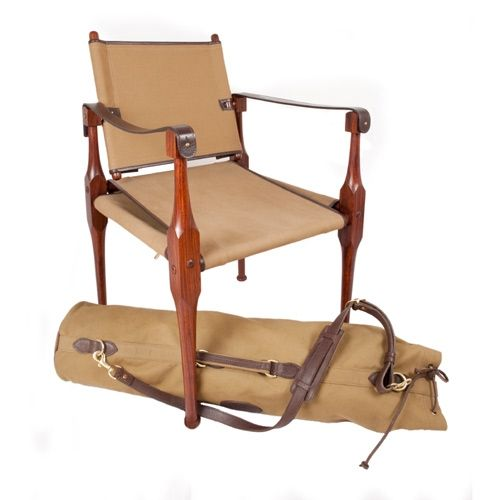 Campaign Furniture: Roorkhee Chair Reproduction, Available For  Purchase.This Highly Portable, Lightweight
