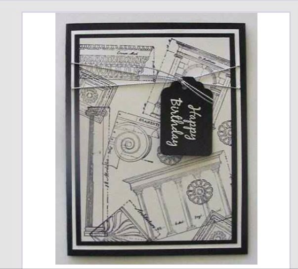 Architecture Happy Birthday Card Greeting Cards Gift