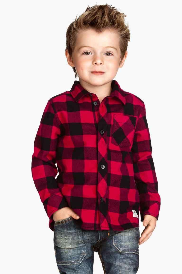 b980e292e Camisa de franela de cuadros Camisas De Franela, Camisas Para Niñas,  Vestidos Para Niñas