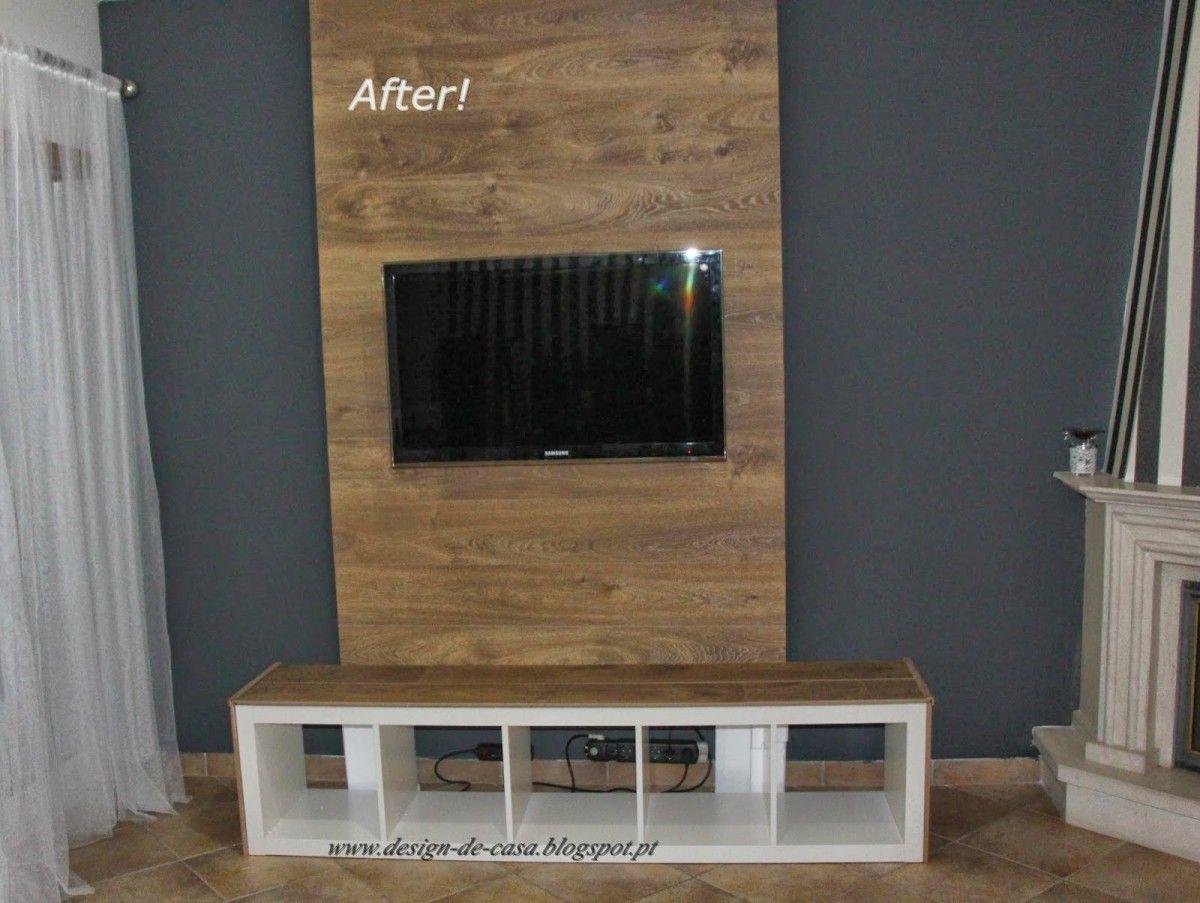 Expedit Panel Tv Sitting Room Decor Wall Paneling Diy Tv Wall