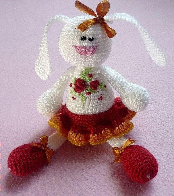 Easter gift easter bunny bunny crochet crochet toy rattle baby easter gift easter bunny bunny crochet crochet toy rattle baby rabbit negle Gallery