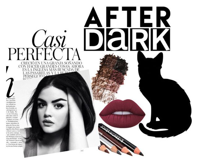 """""""AFTER DARK Beauty"""" by pasteldreams11 ❤ liked on Polyvore featuring beauty, LORAC, Lime Crime and Whiteley"""