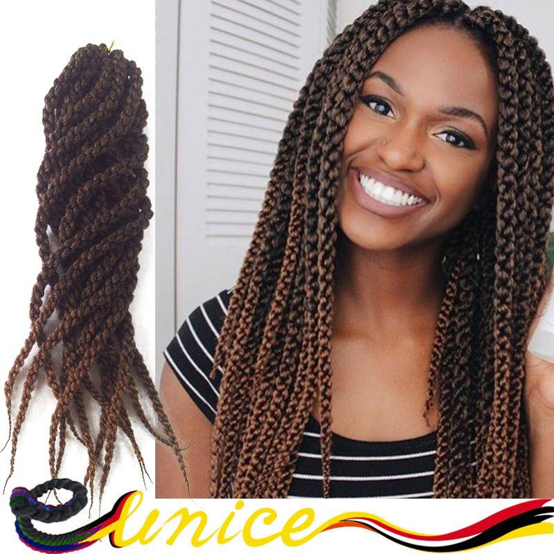 3d Cubic Twists Crochet Synthetic Braiding Extension In Bulk Hair