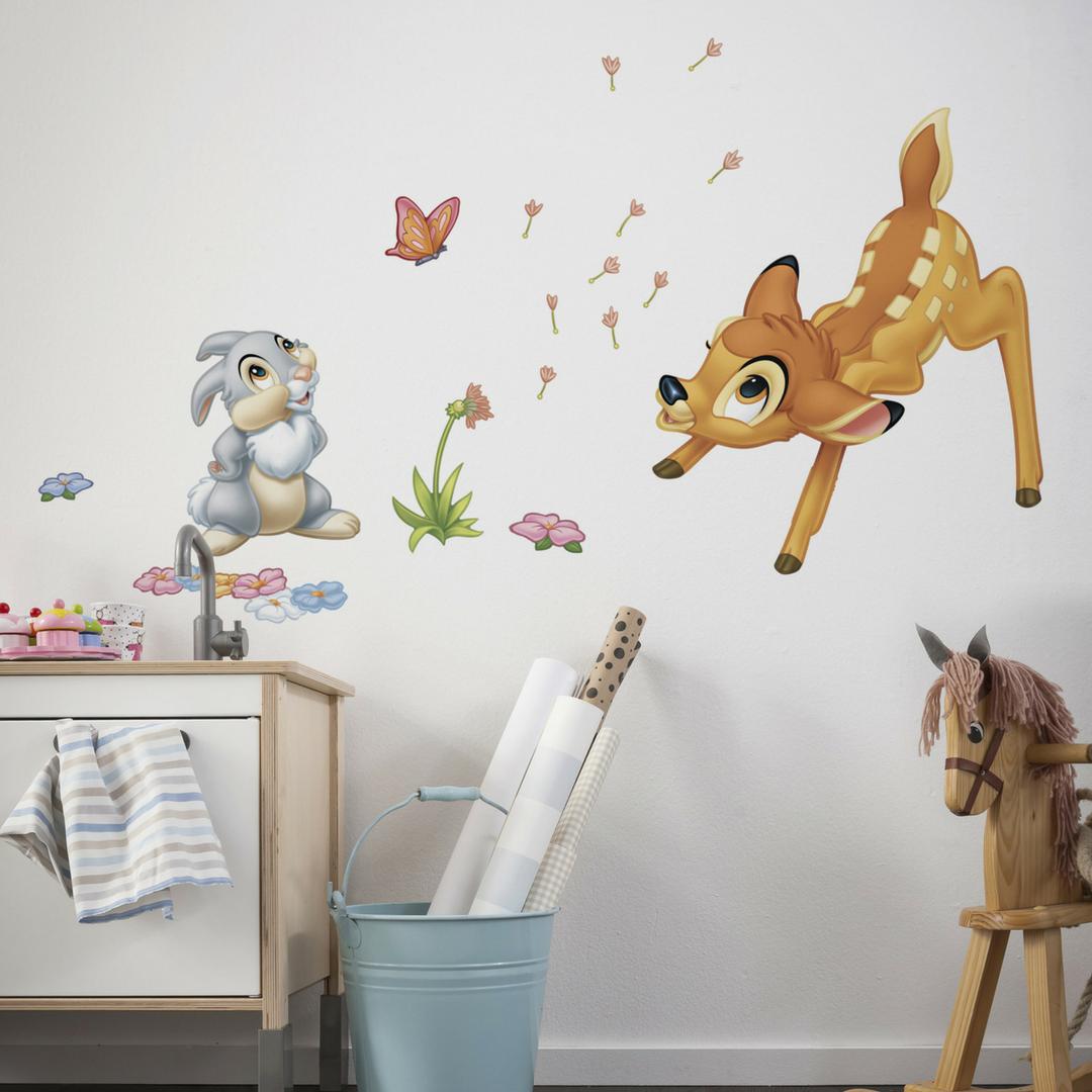 Komar Bambi Wandtattoo Wandtattoo Kinderzimmer Babyzimmer