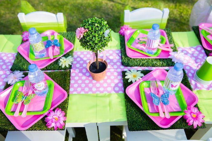 Butterfly Garden Themed Birthday Party {Ideas, Supplies, Decor ...