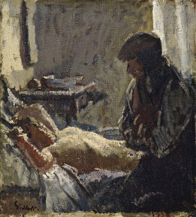 Walter Richard Sickert \'The Camden Town Murder\' c.1907–8   Walter ...