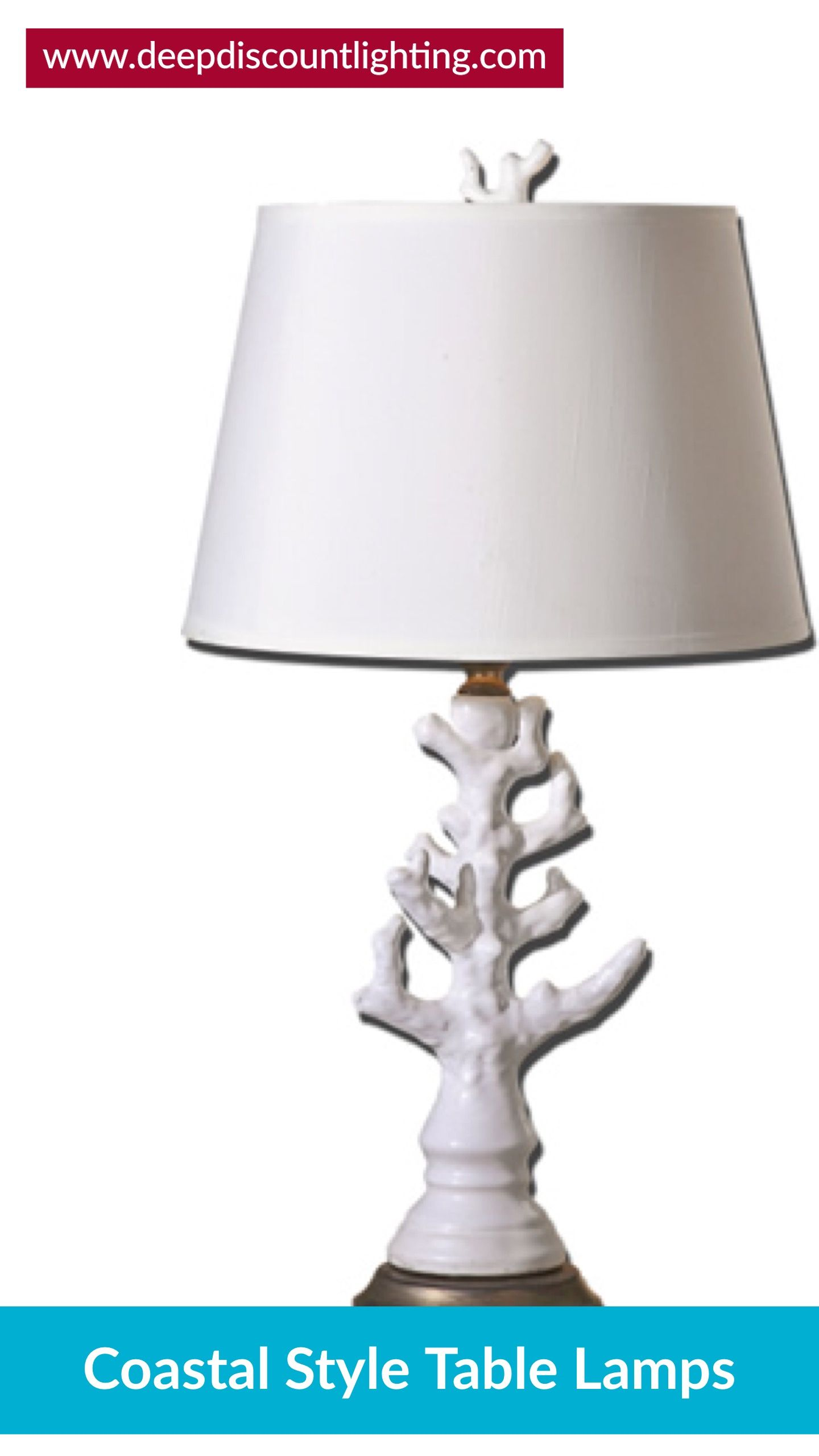 Coastal Style Table U0026 Floor Lamps Coastal Living With These Table Lamps  That Incorporate Driftwood, Shells And Coral Or Reflect Ocean Motifs.