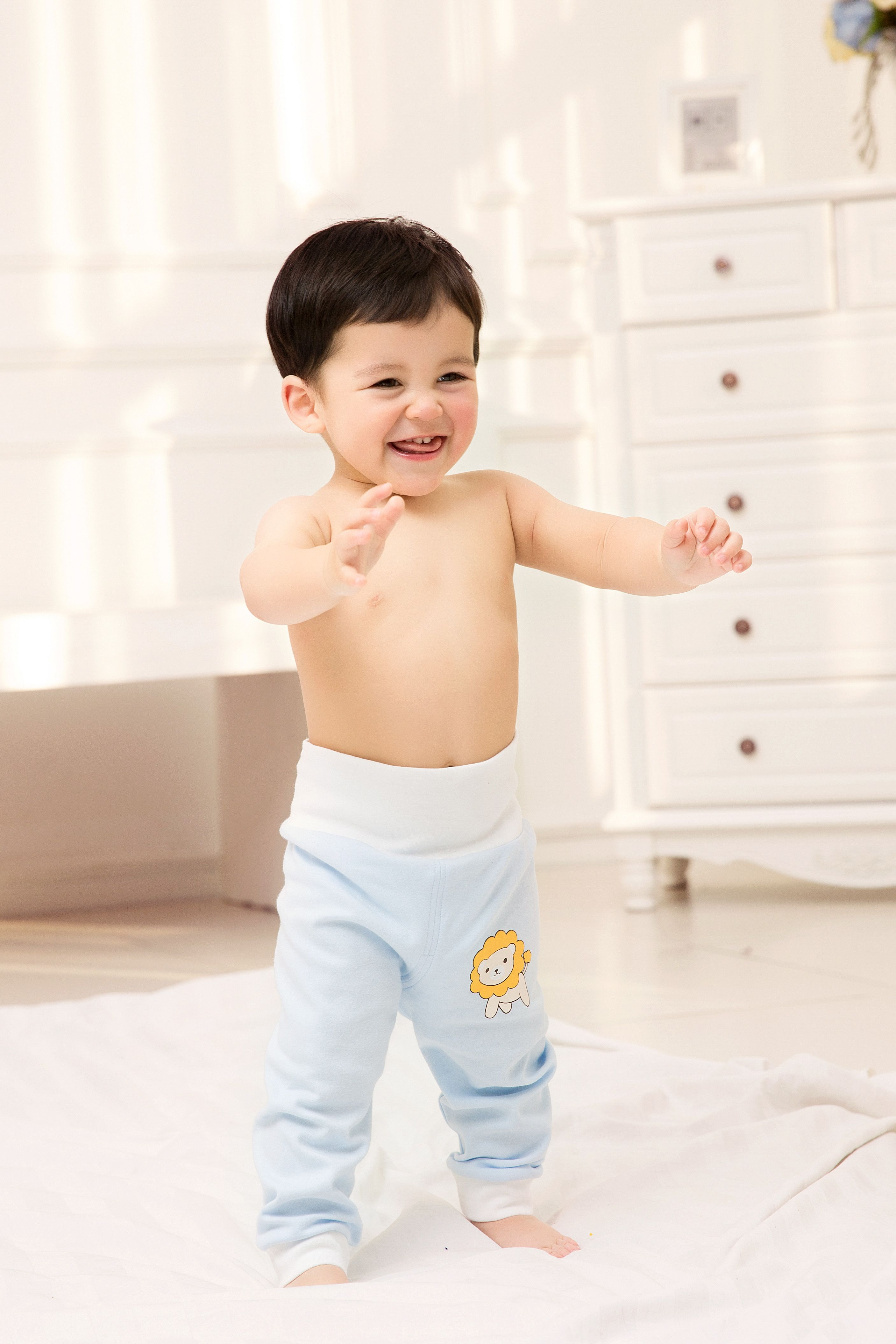 2015 New Cute Fashion Spring Autumn Baby Clothing Pants Uni