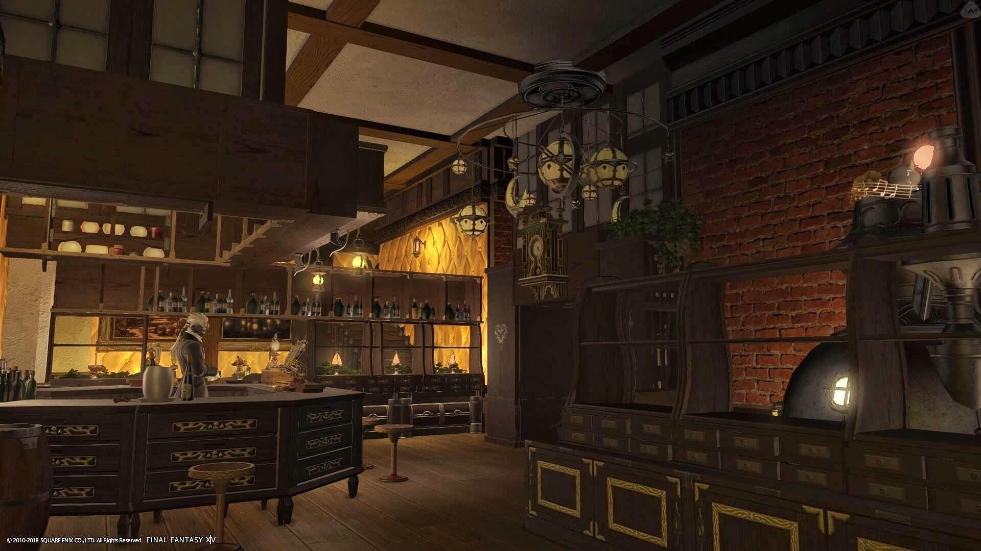 British Pub ファンタジーハウス カフェ内装 内装