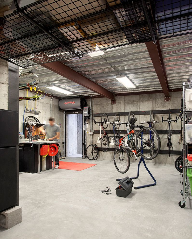 Suncast Hose Reel Garage And Shed Contemporary With Bicycles Ceiling  Lighting Concrete Hanging Rack Metal Ceiling