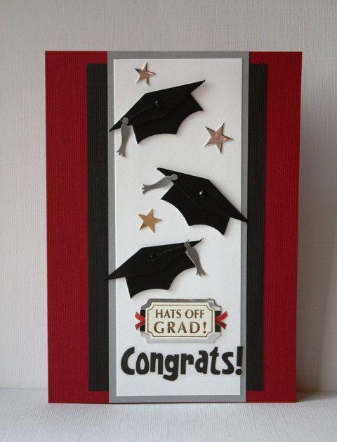 Graduation Handmade Card Graduación, Tarjetas y Tarjetas para