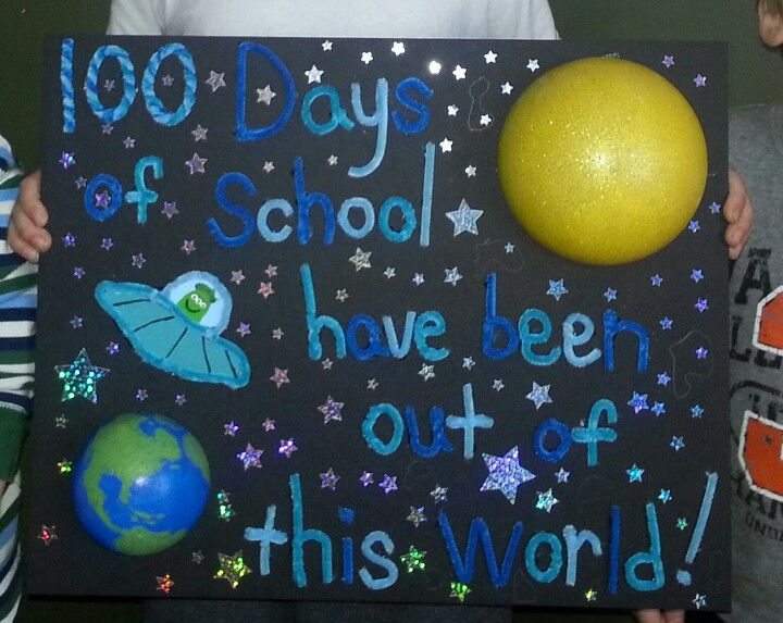 100 days of school home projects