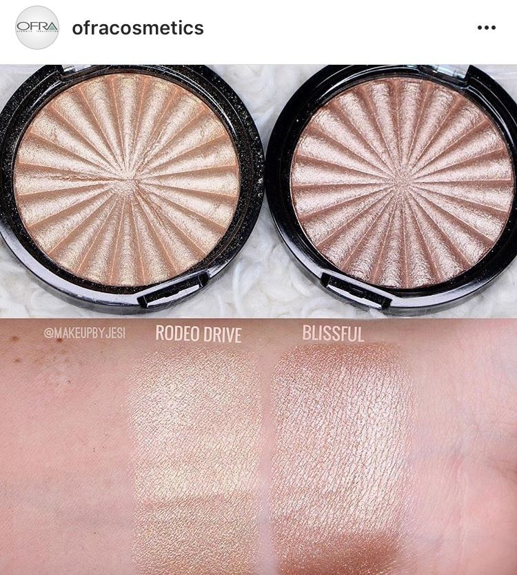 Ofra Highlighter Swatches Cruelty Free Makeup Skincare