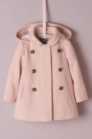 Buy Pink Smart Coat (3mths-6yrs) from Next Israel  77bf0c62f0e5