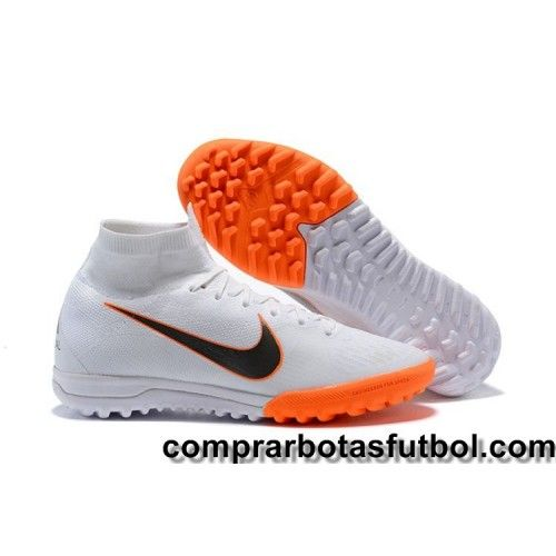 Nike Mercurial SuperflyX VI Elite IC Naranja Negro Blanco