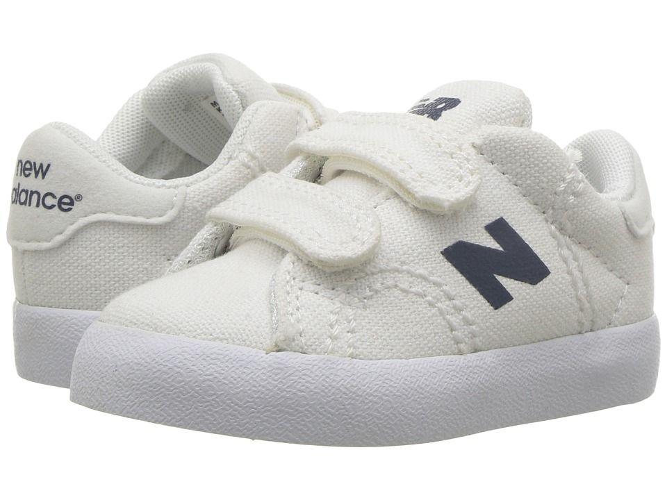 085018d49365d New Balance Kids Pro Court (Infant/Toddler) Boys Shoes White/Navy ...