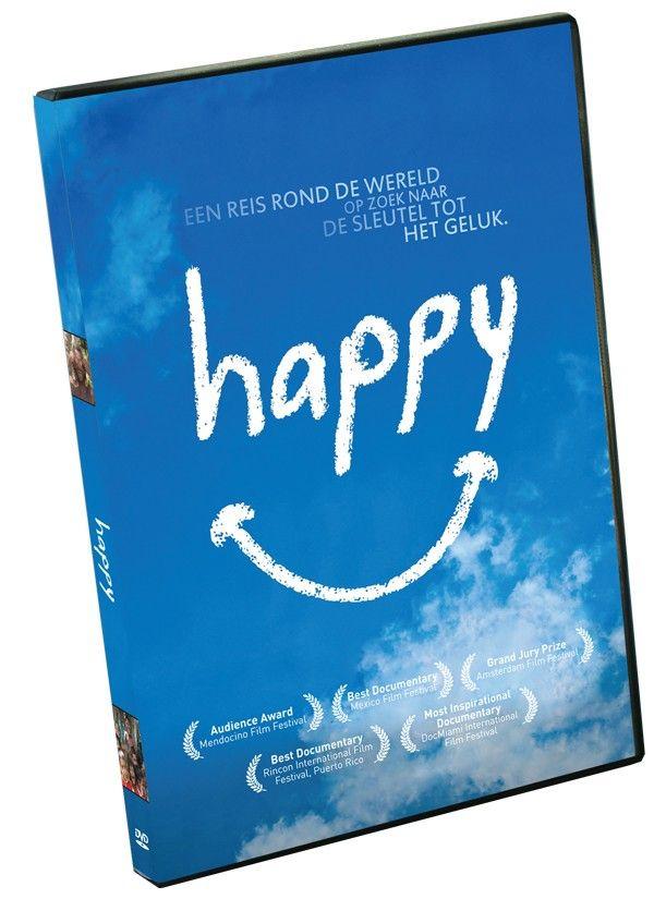 """Happy // 15€ // Daltonshop.be // #Geluk  #psychologie //  Een documentaire om blij van te worden. 'Happy' frist je geheugen op en geeft je allerlei handvaten om een blijer mens te worden. Vrolijk en inspirerend."""" (Cinemagazine.nl)"""
