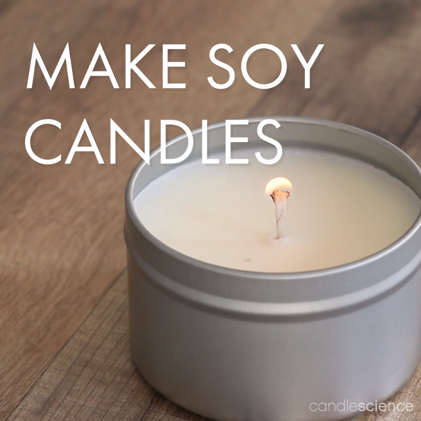A Soy Candle Making Kit from CandleScience has everything