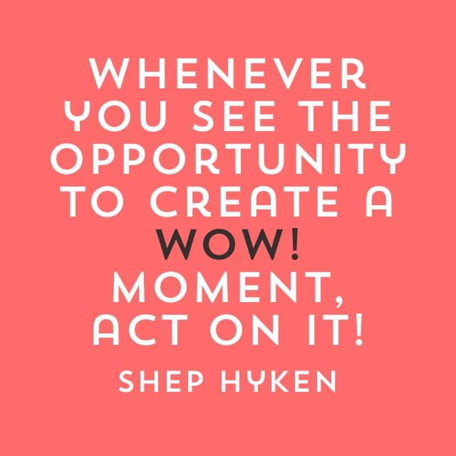 Inspirational Customer Service Quote Humor: #wow Moments #business #marketing