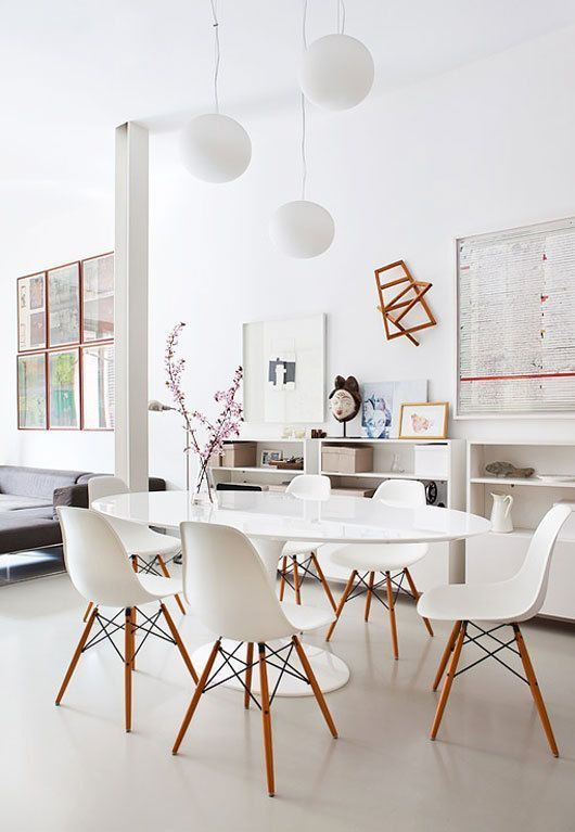 White Dining Room: White Dining Room