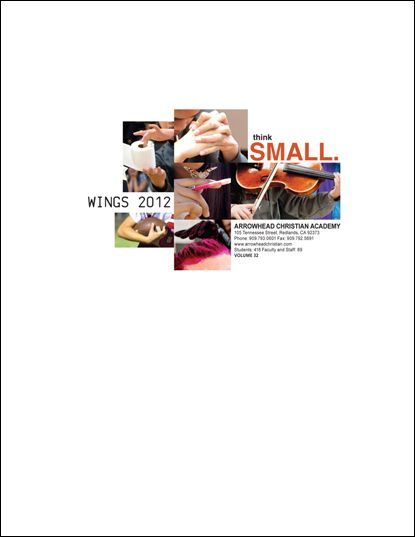 arrowhead christian academy yearbook title page - Yearbook Design Ideas