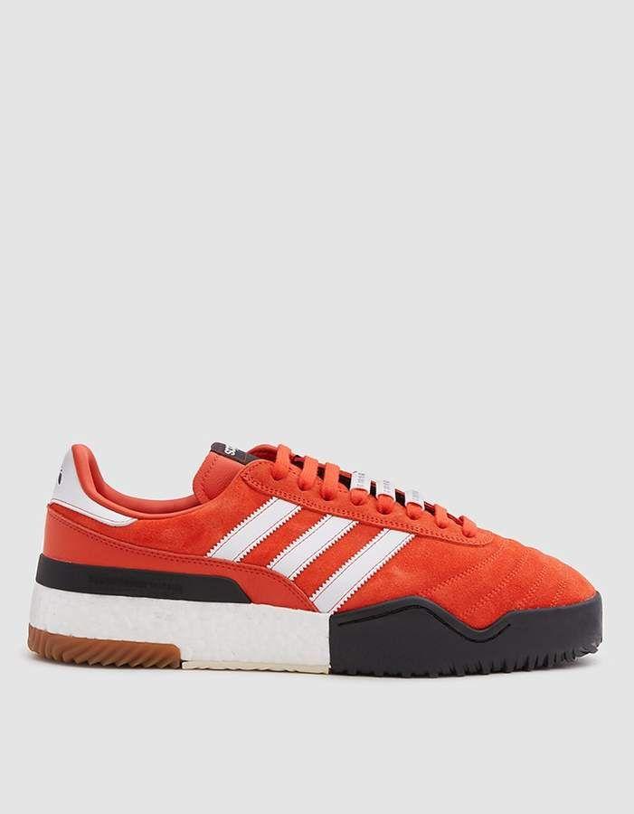 watch 03577 8a4e8 AW BBall Soccer Sneaker in Orange