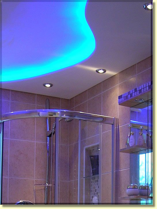 Creative Ceiling Ideas For Bathroom Bathroom Lighting Design Bathroom Design Luxury Led Strip Lighting