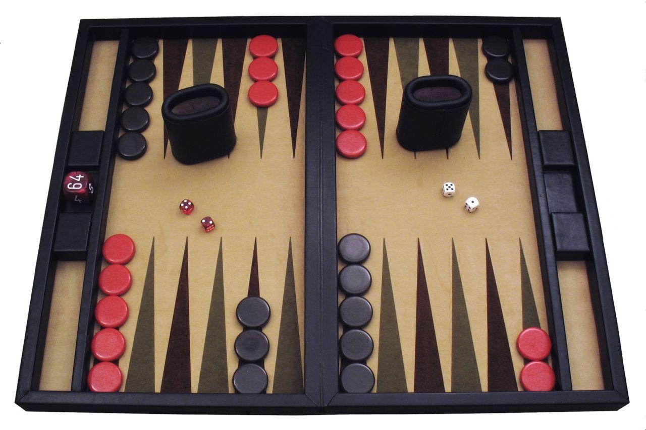 Backgammon Set ►http://casino-poker-games.de/backgammon/ #backgammon