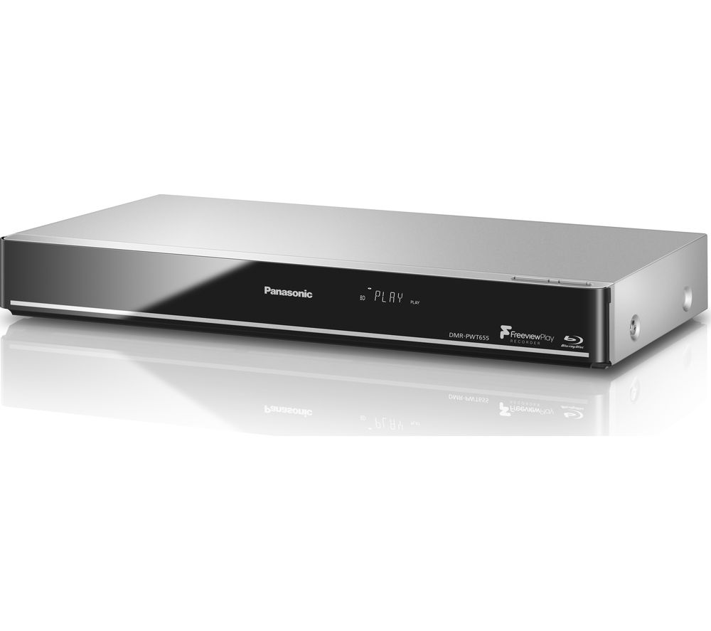 Panasonic Dmr Pwt655eb Smart 3d Blu Ray Dvd Player With Freeview Play Recorder 1 Tb Hdd Dvd Blu Ray Players In 2019 Dvd Blu Ray Hdd Home Cinemas