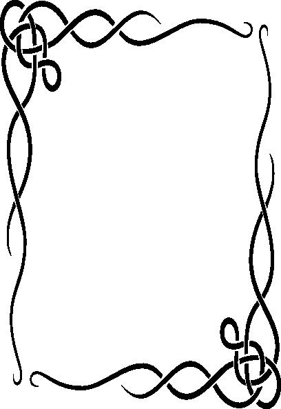 Decorative Border Vector Png