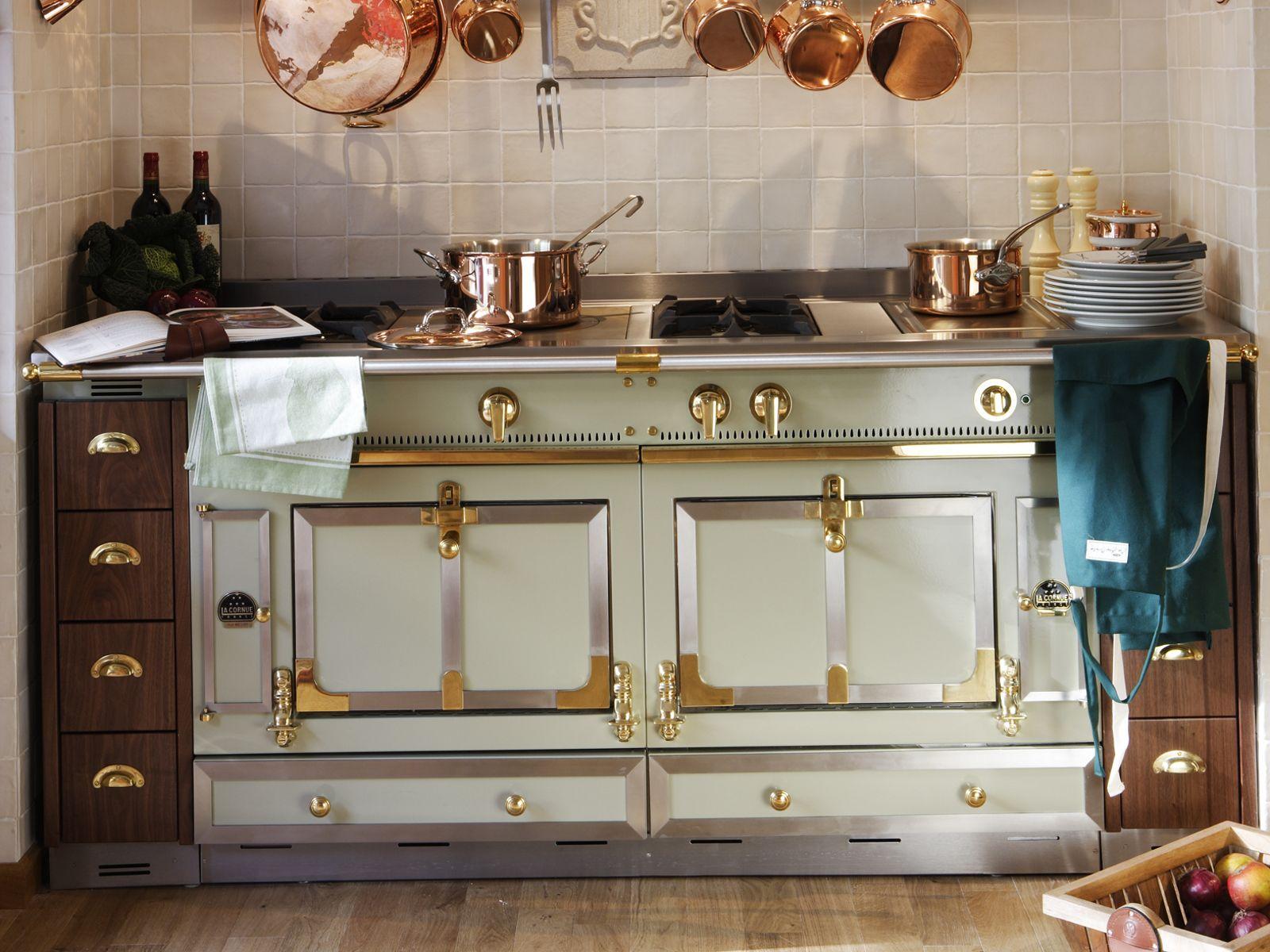 Cuisine La Cornue | Stainless Steel Cooker Chateau 150 By La Cornue Paradise By The