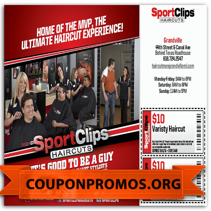 printable sports clips coupon for November December