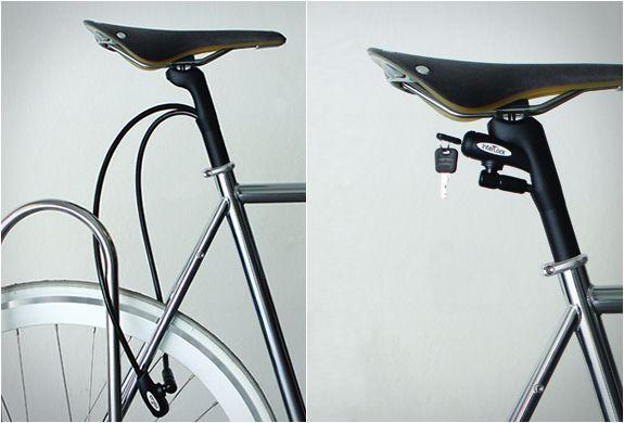 Interlock Bike Lock Bike Design Interlock