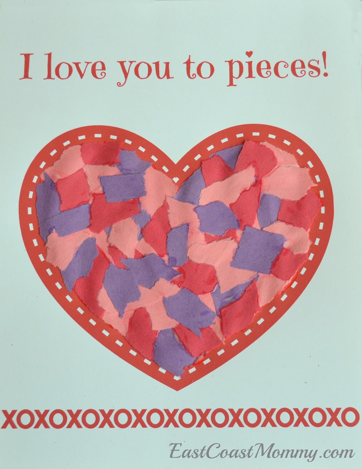 Simple Valentine S Day Craft For Toddlers And Preschoolers With