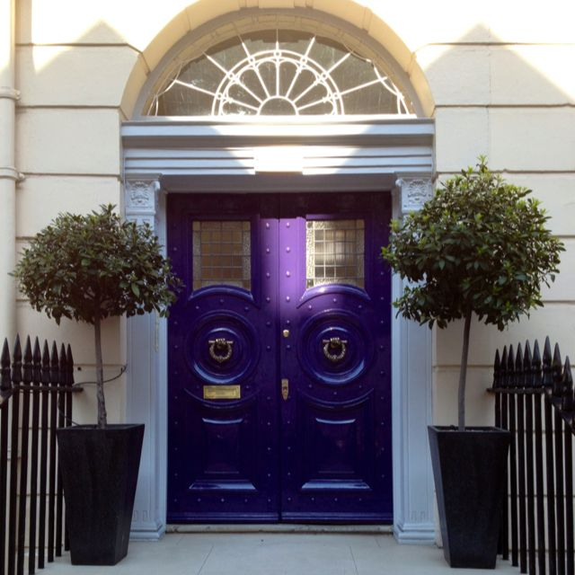 London entrance door | Purple love | Pinterest | Entrance doors ...