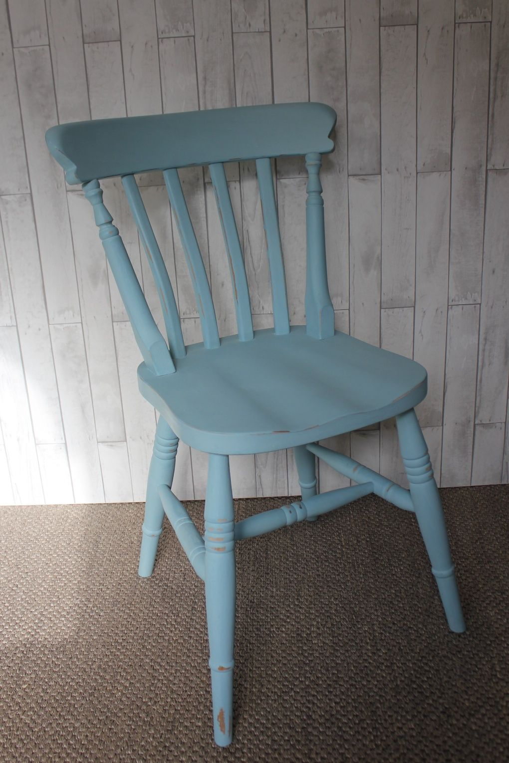 Upcycled hand painted chair using Autentico chalk paint in colour ...