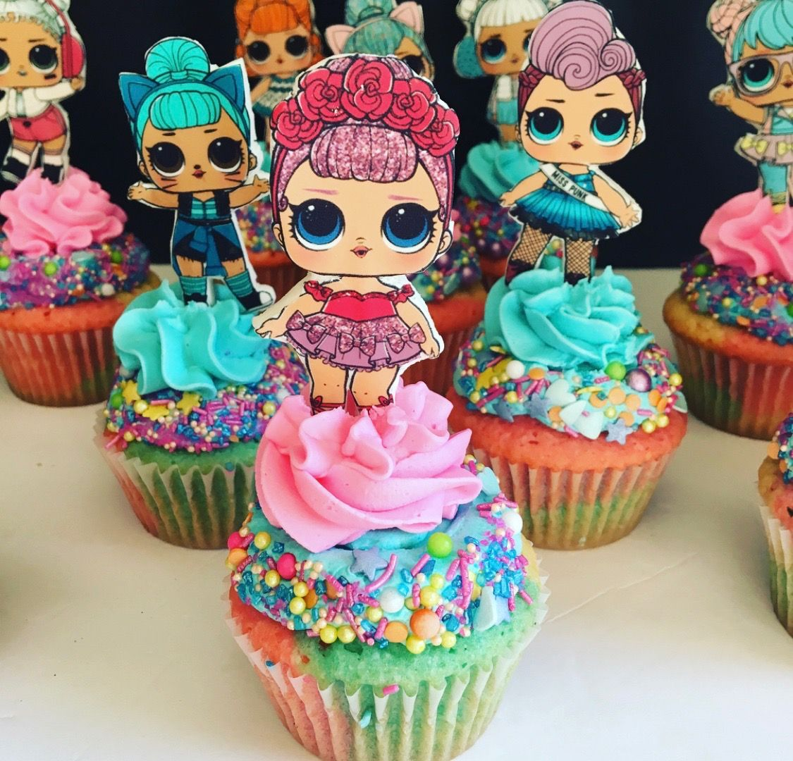 Lol Surprise Dolls Cupcakes Birthday Surprise Party Birthday