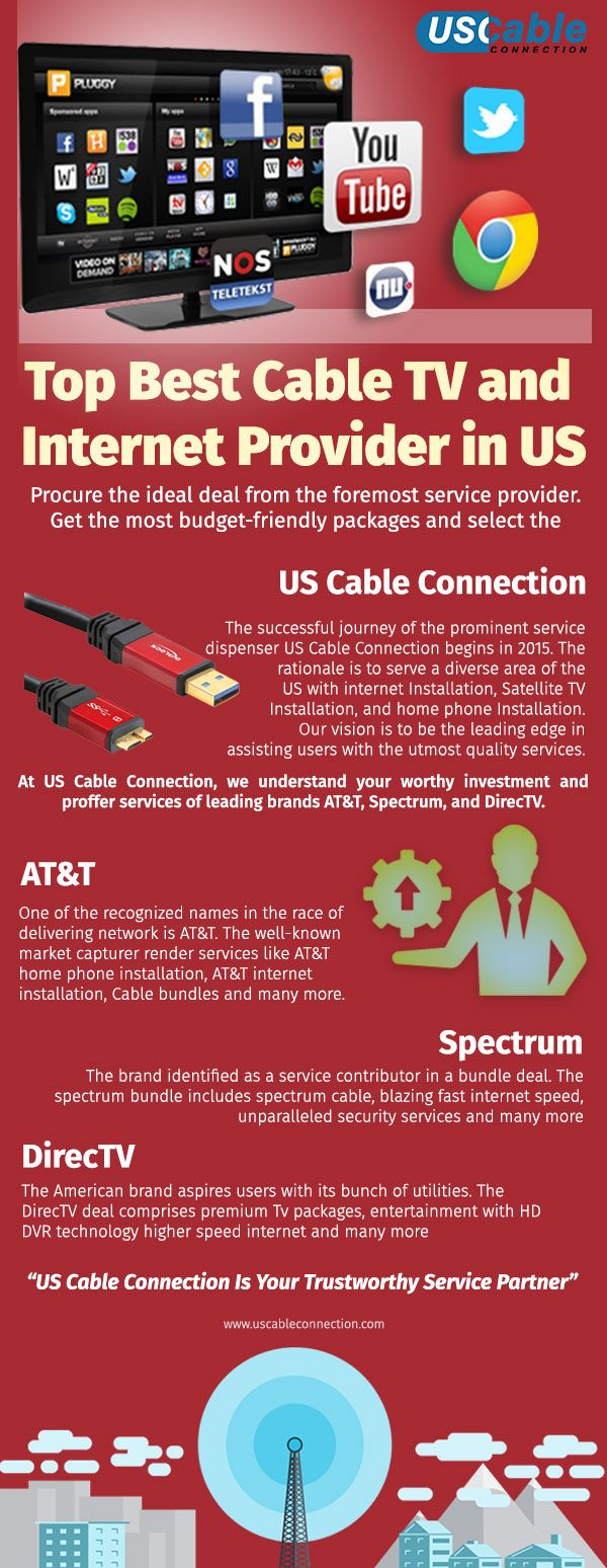 Top Best Cable Tv And Internet Provider In Us In 2020 Best Cable Tv Satellite Tv Tv Providers