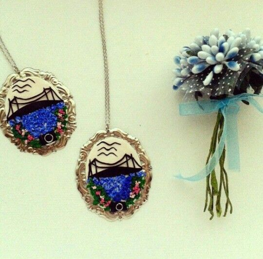 Polymer Clay Necklace  Polimer Kil İstanbul Kolye  #istanbul #kolye #polimer #kil #polymer #clay #necklace #pendant #kolyeucu