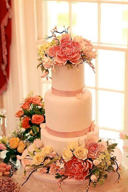 The Best Sugar Flower Wedding Cakes Exquisite Fl Additions