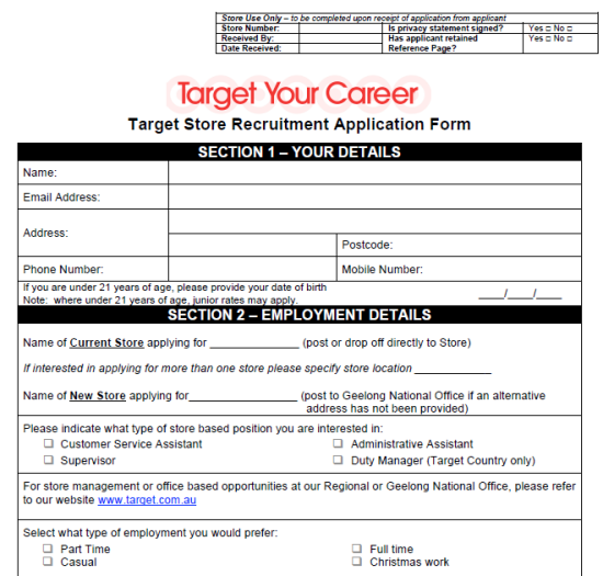 Pin by DIY Home Decor on Job Application Forms (With