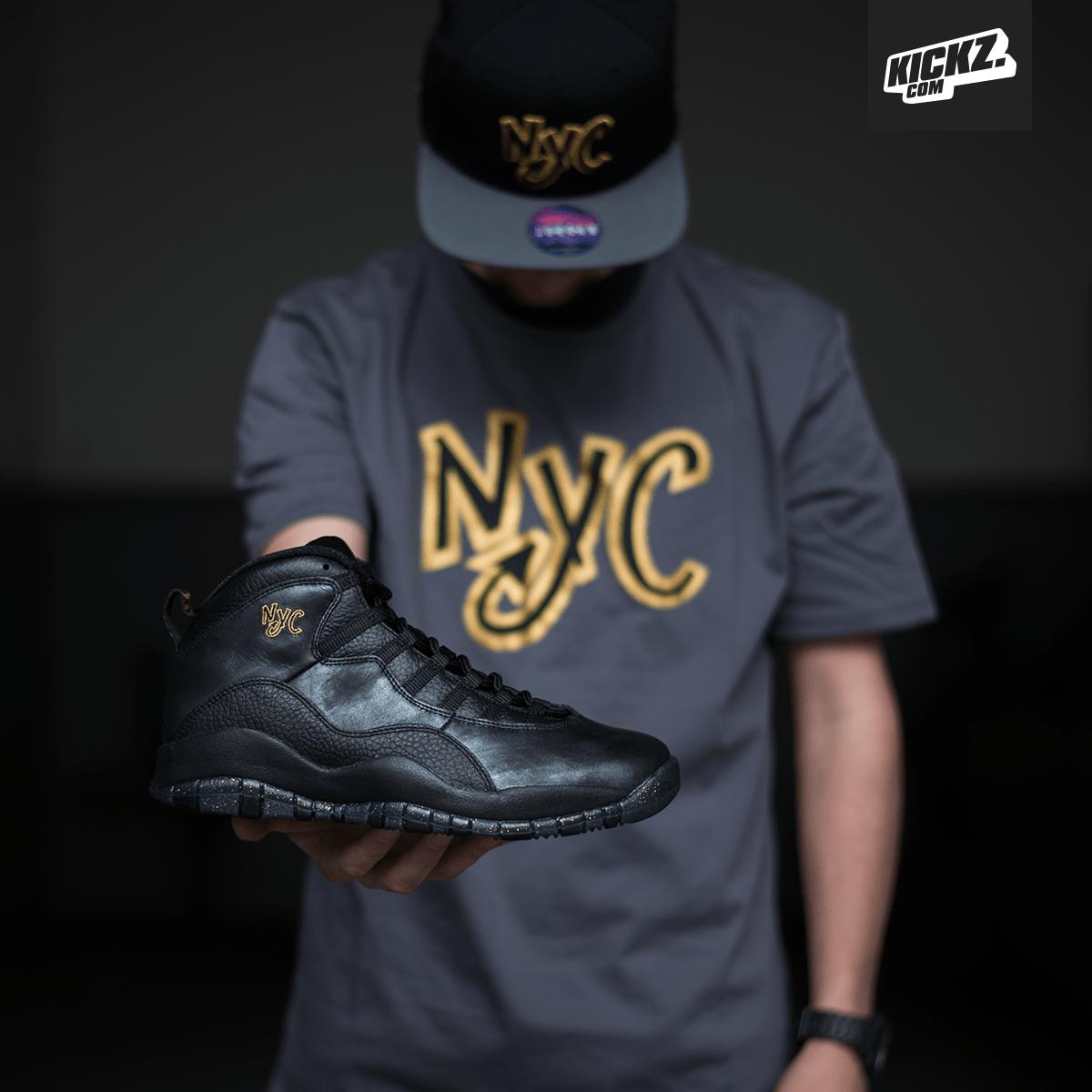 Nike Air Jordan 10 Nyc Chemise