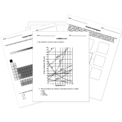 FREE chemistry worksheets for elementary, middle, and high