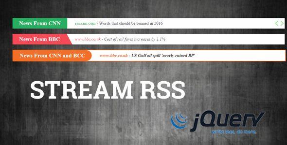 StreamRSS Feed Viewer | Scripts | Design bundles, Web design