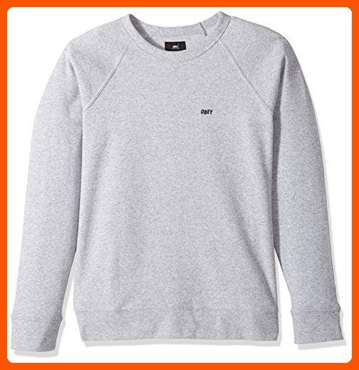 Obey Mens Lofty Comforts Crewneck Sweatshirt