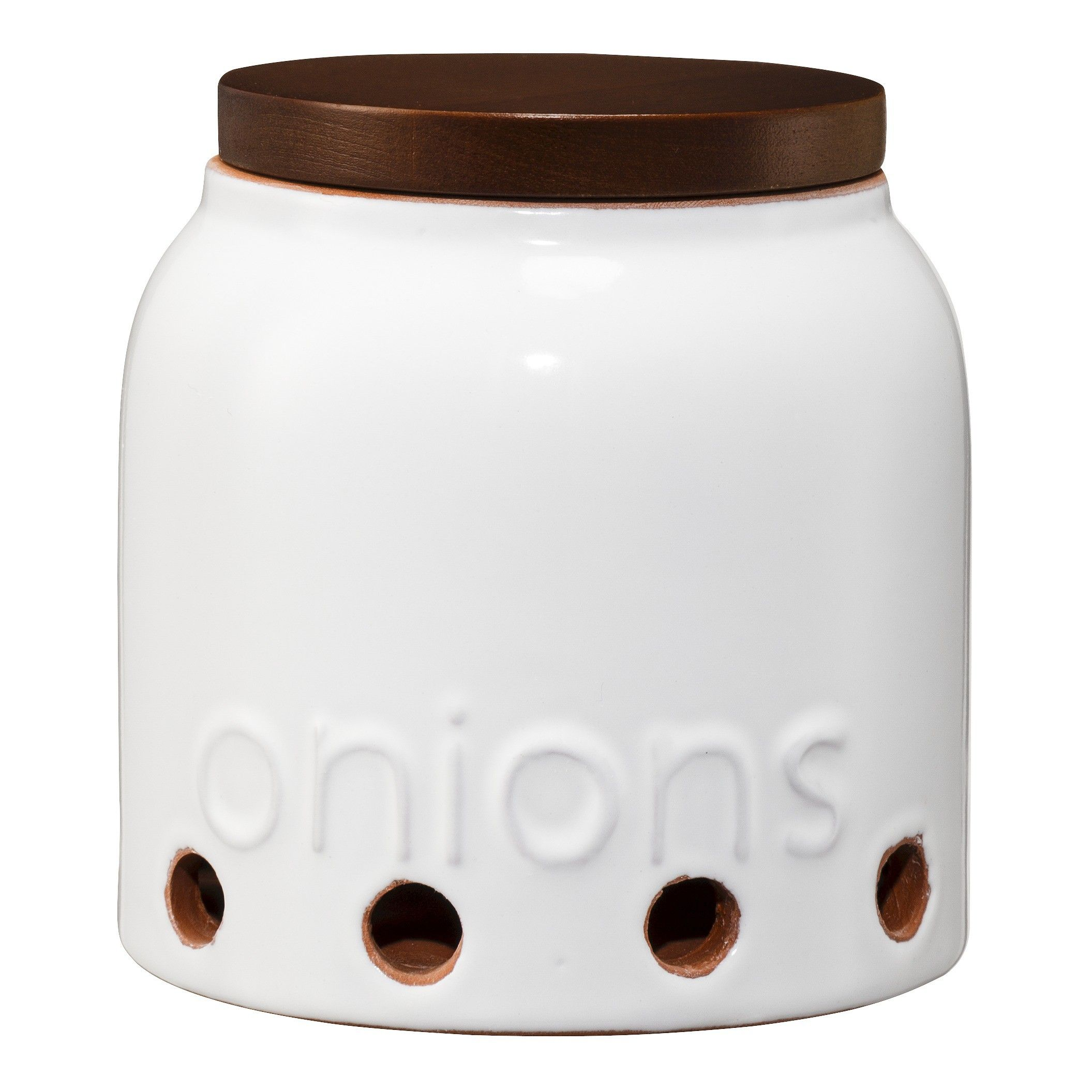 Threshold™ Terracotta Shallot Jar with Acacia Lid : Target | can I ...